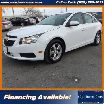 2011 Chevrolet Cruze for sale at CousineauCars.com in Appleton WI