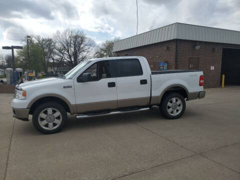 2006 Ford F-150 for sale at RIVERSIDE AUTO SALES in Sioux City IA