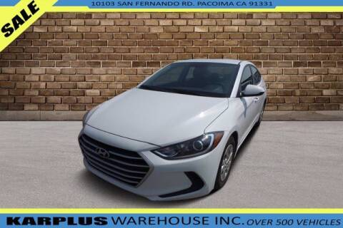 2018 Hyundai Elantra for sale at Karplus Warehouse in Pacoima CA