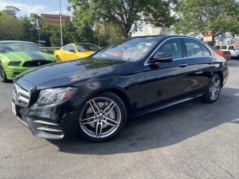 2018 Mercedes-Benz E-Class for sale at Sonias Auto Sales in Worcester MA