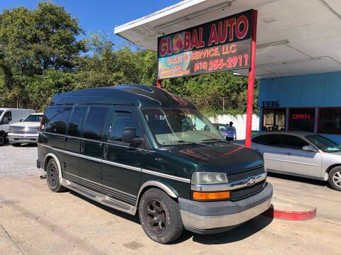 2004 Chevrolet Express Cargo for sale at Global Auto Sales and Service in Nashville TN