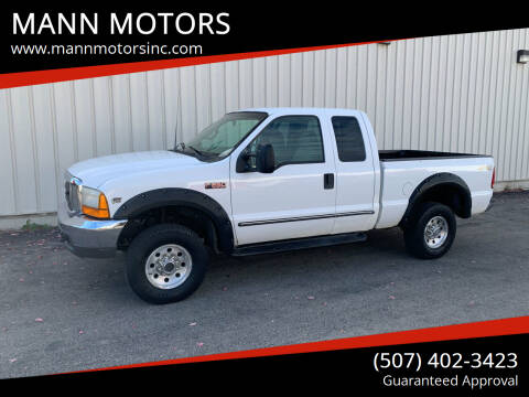 2000 Ford F-250 Super Duty for sale at MANN MOTORS in Albert Lea MN