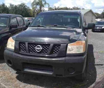 2009 Nissan Titan for sale at Popular Imports Auto Sales in Gainesville FL