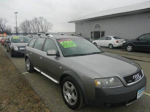 2004 Audi Allroad for sale at Dales Auto Sales in Hutchinson MN