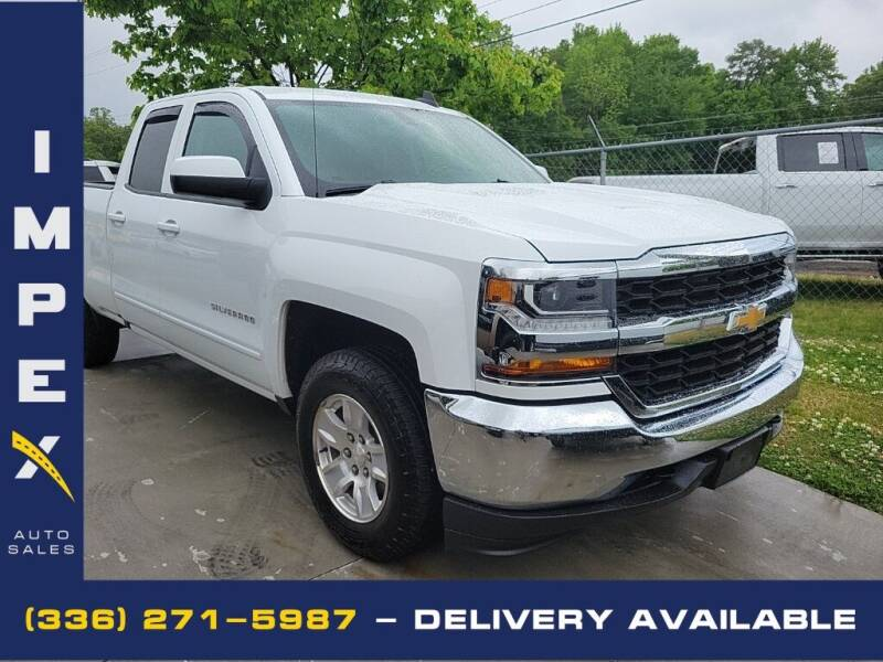 2019 Chevrolet Silverado 1500 LD for sale at Impex Auto Sales in Greensboro NC