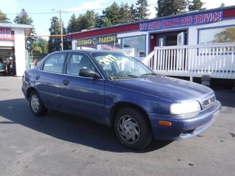 1998 Suzuki Esteem for sale at 777 Auto Sales and Service in Tacoma WA