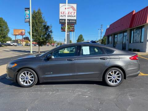 2017 Ford Fusion Hybrid for sale at Select Auto Group in Wyoming MI