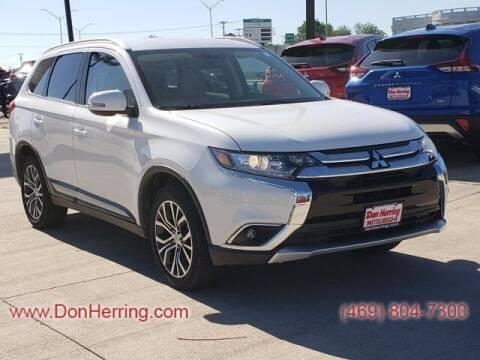 2017 Mitsubishi Outlander for sale at DON HERRING MITSUBISHI in Irving TX
