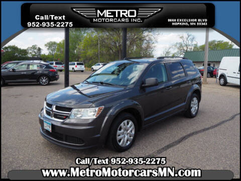2017 Dodge Journey for sale at Metro Motorcars Inc in Hopkins MN