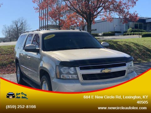 2007 Chevrolet Suburban for sale at New Circle Auto Sales LLC in Lexington KY
