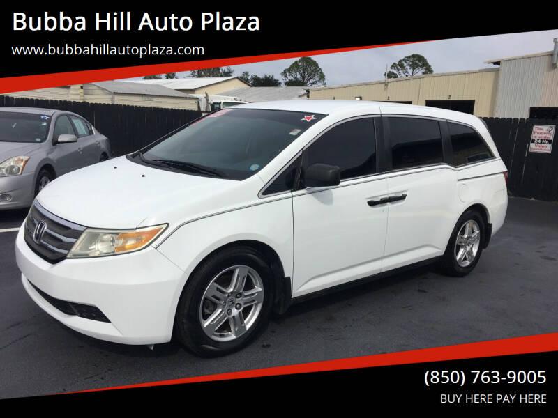2011 Honda Odyssey for sale at Bubba Hill Auto Plaza in Panama City FL