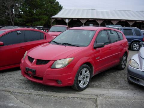 2003 Pontiac Vibe for sale at Greg Vallett Auto Sales in Steeleville IL