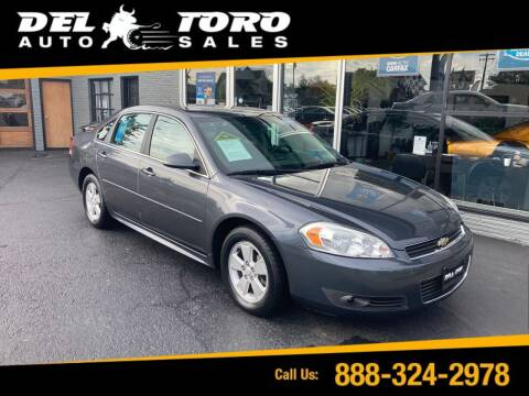 2010 Chevrolet Impala for sale at DEL TORO AUTO SALES in Auburn WA