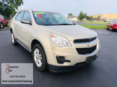 2012 Chevrolet Equinox for sale at Transportation Center Of Western New York in Niagara Falls NY