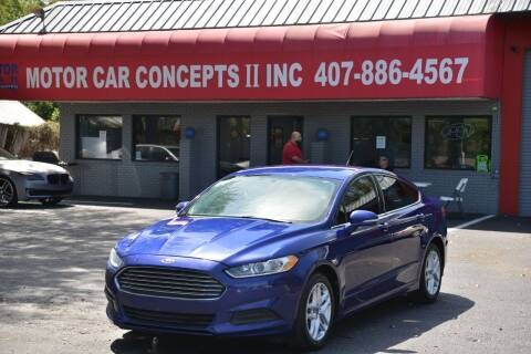 2014 Ford Fusion for sale at Motor Car Concepts II - Colonial Location in Orlando FL