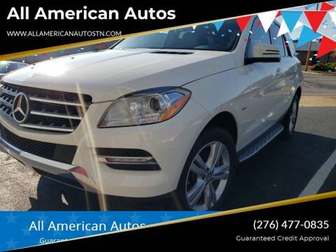 2012 Mercedes-Benz M-Class for sale at All American Autos in Kingsport TN