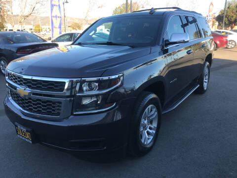 2017 Chevrolet Tahoe for sale at Soledad Auto Sales in Soledad CA