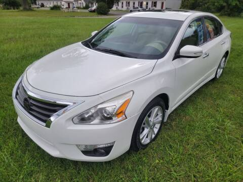 2015 Nissan Altima for sale at Riverside Automotive INC in Aberdeen MD
