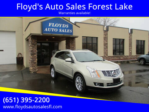 2013 Cadillac SRX for sale at Floyd's Auto Sales Forest Lake in Forest Lake MN
