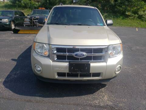 2012 Ford Escape for sale at KANE AUTO SALES in Greensburg PA