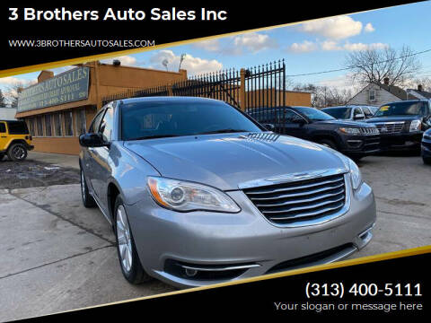 2014 Chrysler 200 for sale at 3 Brothers Auto Sales Inc in Detroit MI
