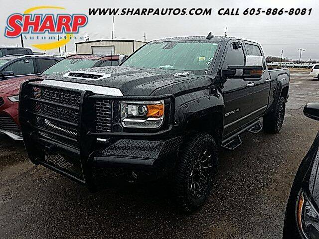 2017 GMC Sierra 3500HD for sale at Sharp Automotive in Watertown SD