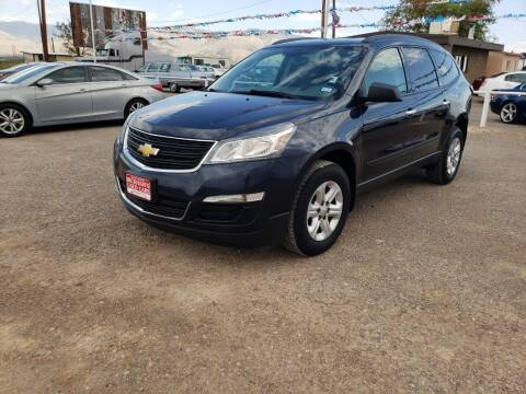 2015 Chevrolet Traverse for sale at Bickham Used Cars in Alamogordo NM