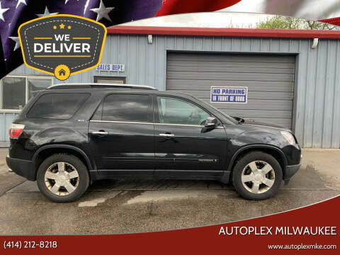 2008 GMC Acadia for sale at Autoplex 3 in Milwaukee WI