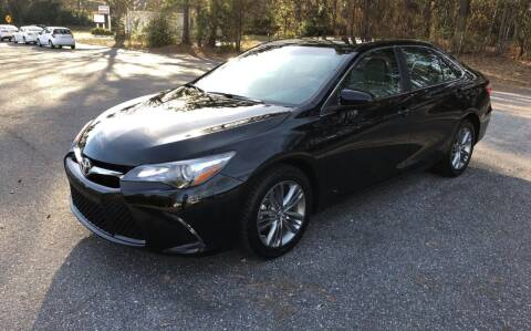 2017 Toyota Camry for sale at Dorsey Auto Sales in Anderson SC