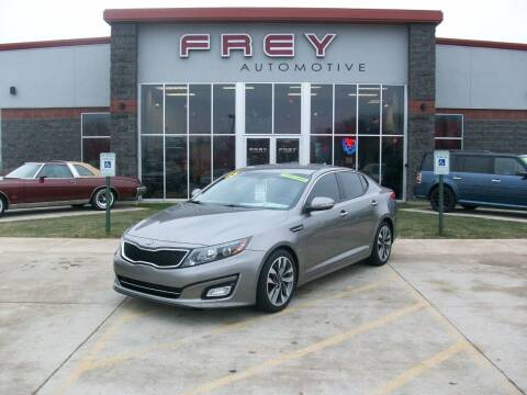2015 Kia Optima for sale at Frey Automotive in Muskego WI