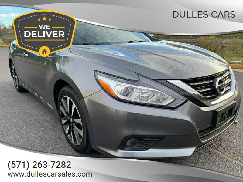 2018 Nissan Altima for sale at Dulles Cars in Sterling VA