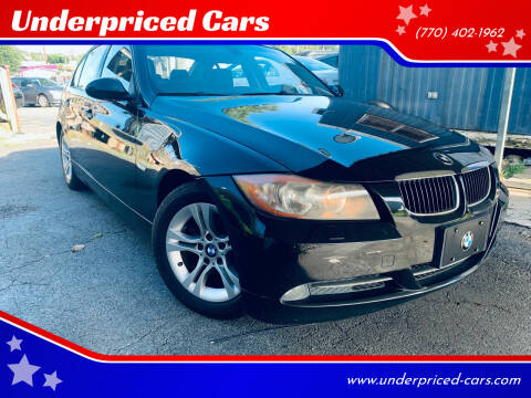 2008 BMW 3 Series for sale at Underpriced Cars in Marietta GA