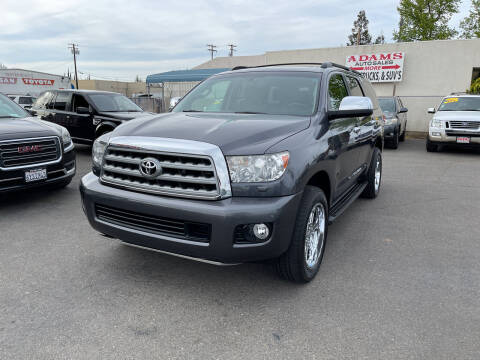 2012 Toyota Sequoia for sale at Adams Auto Sales in Sacramento CA