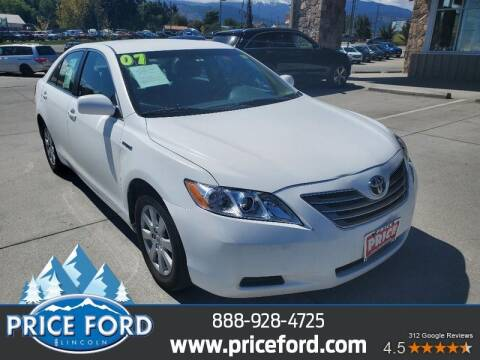 2007 Toyota Camry Hybrid for sale at Price Ford Lincoln in Port Angeles WA