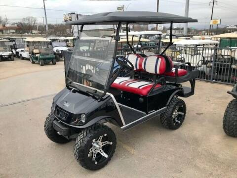 2012 Club Car DSG 4 Passenger Gas Lift for sale at METRO GOLF CARS INC in Fort Worth TX