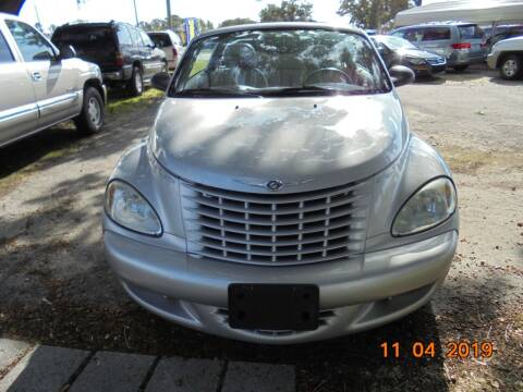 2005 Chrysler PT Cruiser for sale at Webb's Automotive Inc 11 in Morehead City NC