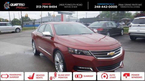 2014 Chevrolet Impala for sale at Quattro Motors 2 in Farmington Hills MI
