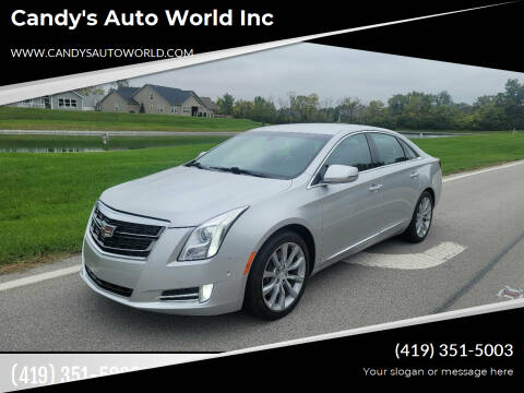 2017 Cadillac XTS for sale at Candy's Auto World Inc in Toledo OH