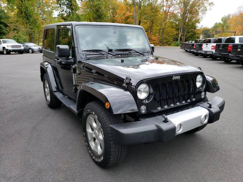 2015 Jeep Wrangler for sale at KLC AUTO SALES in Agawam MA