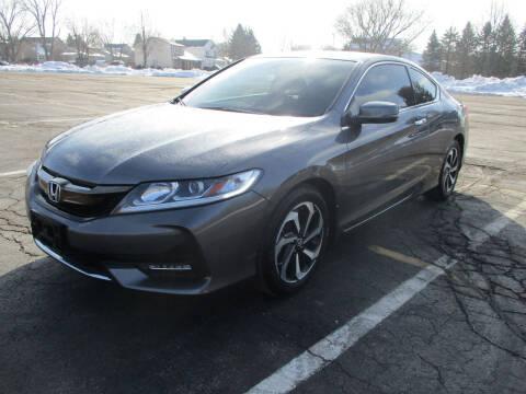 2017 Honda Accord for sale at Triangle Auto Sales in Elgin IL