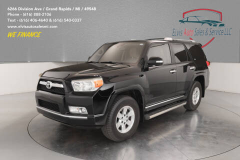 2011 Toyota 4Runner for sale at Elvis Auto Sales LLC in Grand Rapids MI