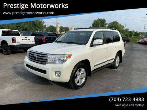 2013 Toyota Land Cruiser for sale at Prestige Motorworks in Concord NC