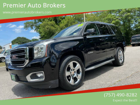2015 GMC Yukon for sale at Premier Auto Brokers in Virginia Beach VA