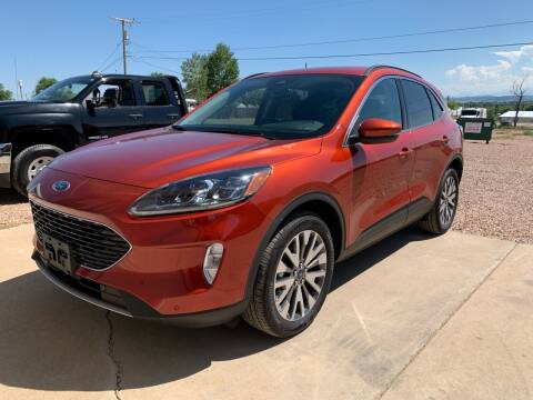 2020 Ford Escape for sale at Northern Car Brokers in Belle Fourche SD
