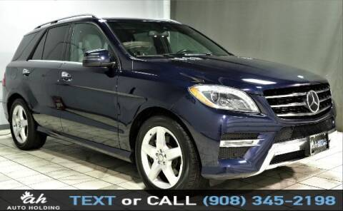 2015 Mercedes-Benz M-Class for sale at AUTO HOLDING in Hillside NJ