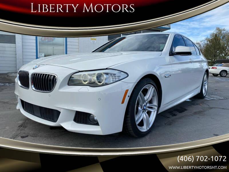 2012 BMW 5 Series for sale at Liberty Motors in Billings MT