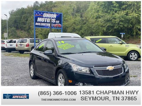2014 Chevrolet Cruze for sale at Union Motors in Seymour TN