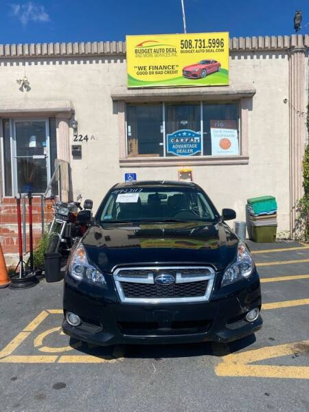 2014 Subaru Legacy for sale at Budget Auto Deal and More Services Inc in Worcester MA