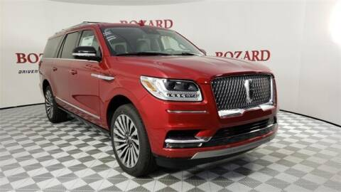 2020 Lincoln Navigator L for sale at BOZARD FORD in Saint Augustine FL