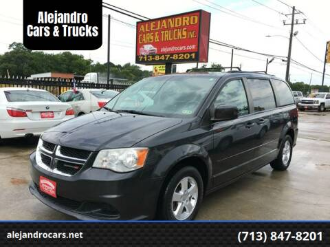 2014 Dodge Grand Caravan for sale at Alejandro Cars & Trucks in Houston TX